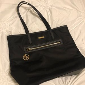 Large Michael Kors Tote Bag Black